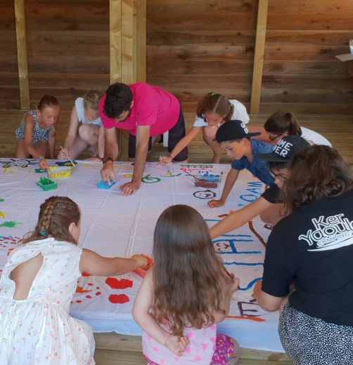 Camping Ker Yaoulet : animation enfants
