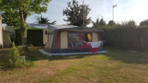 Camping Ker Yaoulet : emplacement caravane